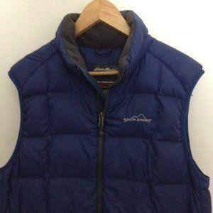 Eddie Bauer 365 Men Small Goose Down Vest Jacket